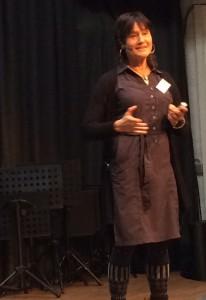 Liv Larsson beim Trainerkongress in Düsseldorf